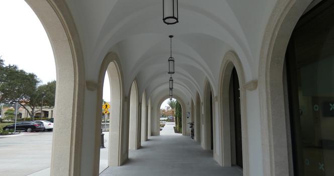 Venice FL Library on Venice Island