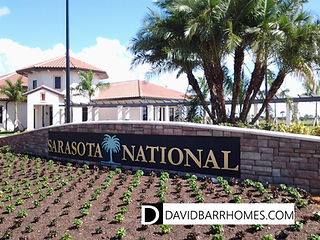 Venice FL gated home community Sarasota National