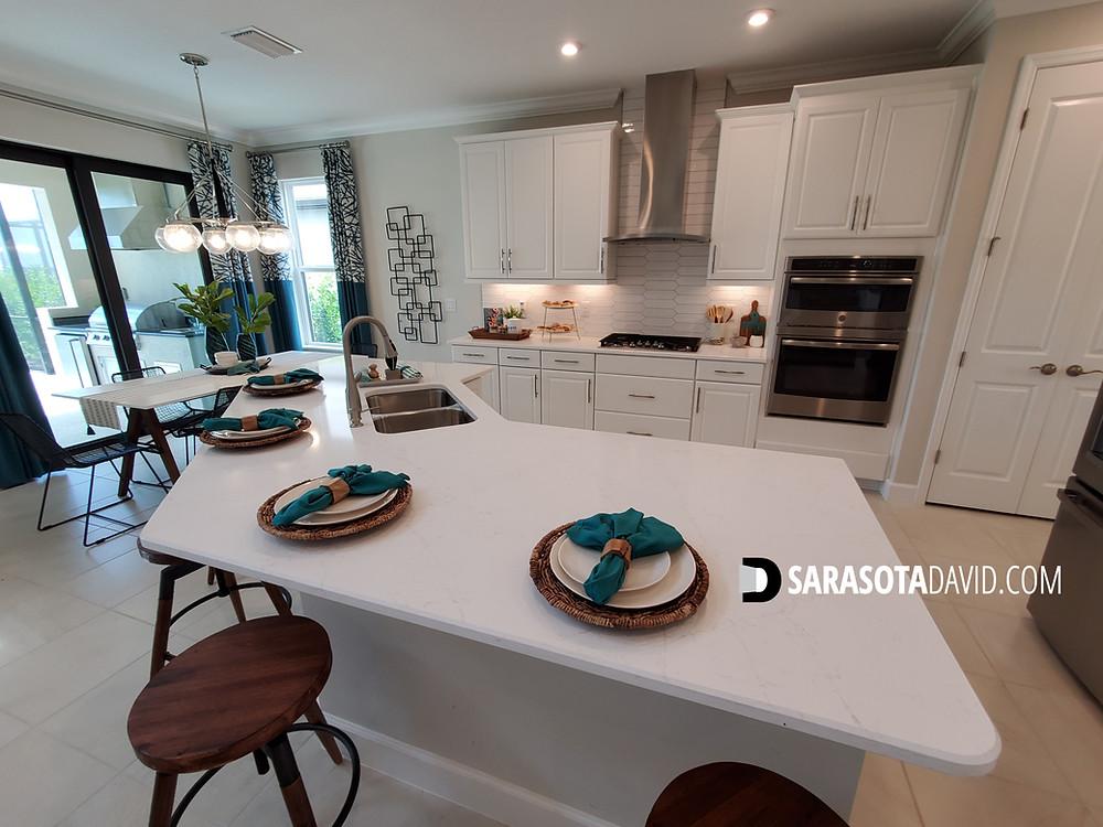 Skye Ranch model home kitchen