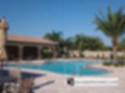 View of Calusa Park community pool