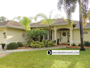 Typical North Port FL home for sale