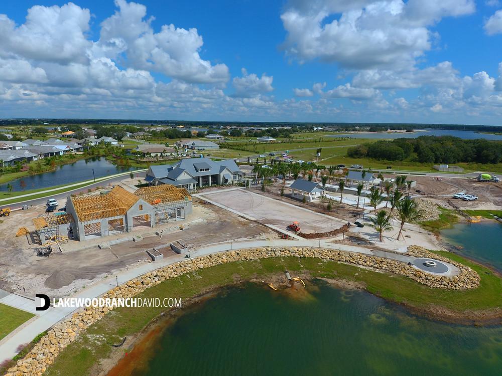 Lakehouse Cove waterfront amenities at Waterside Lakewood Ranch