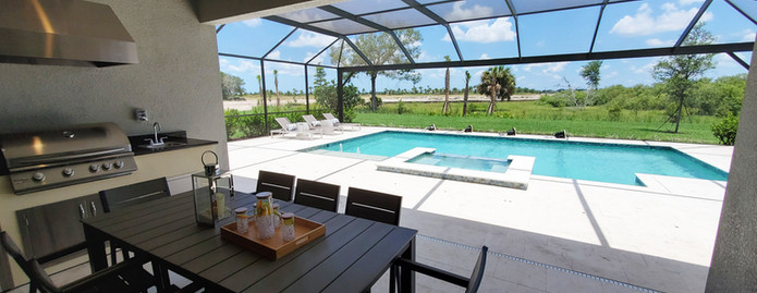 Park East Lakewood Ranch model home pool