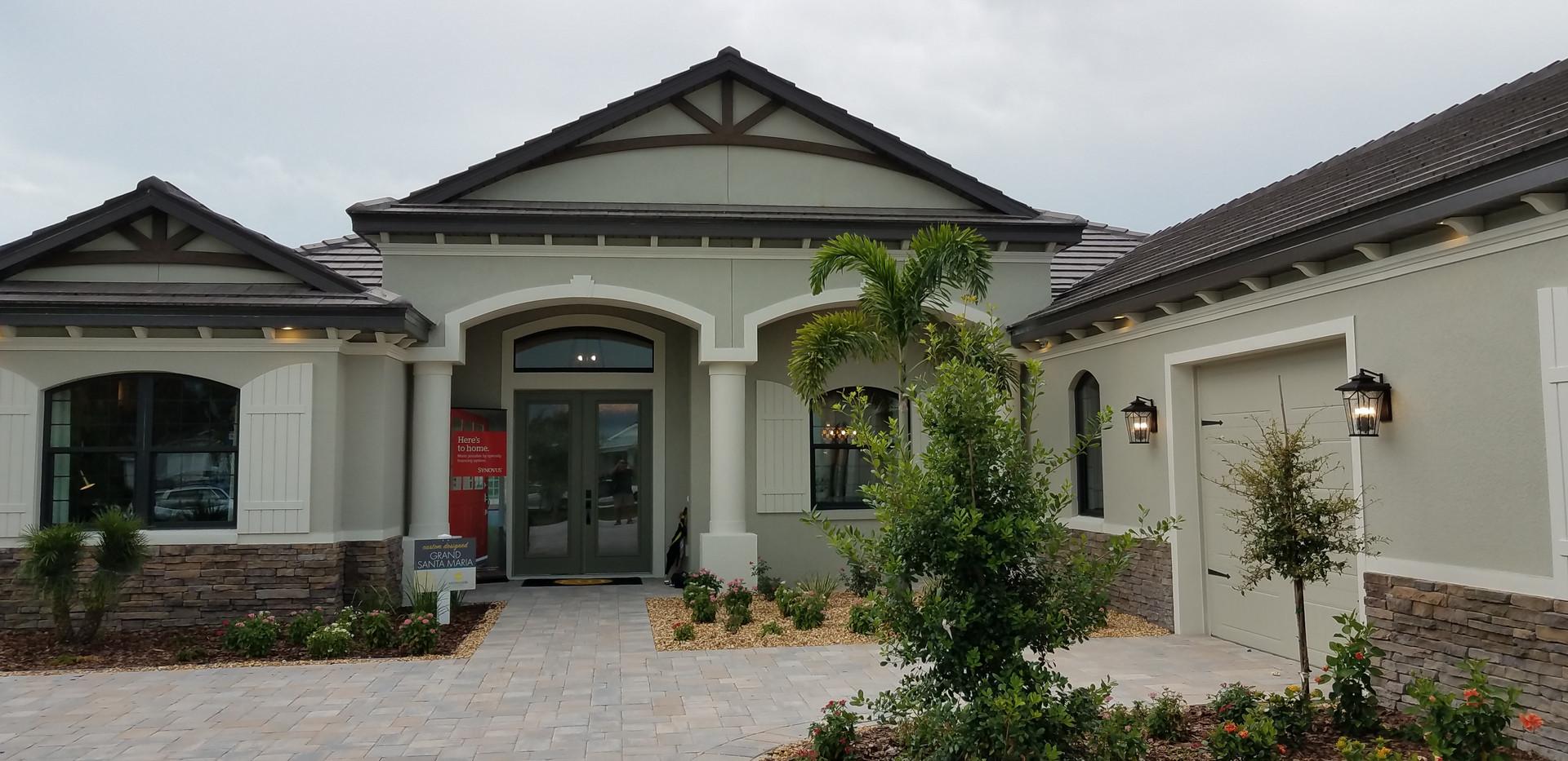 Hampton Lakes Sarasota Model Home