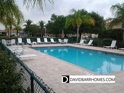 L Pavia condos Venice FL community pool