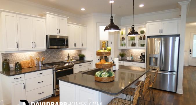 Cielo Venice FL model home kitchen