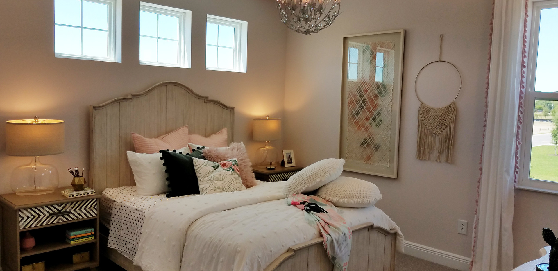 Worthington model home bedroom 2