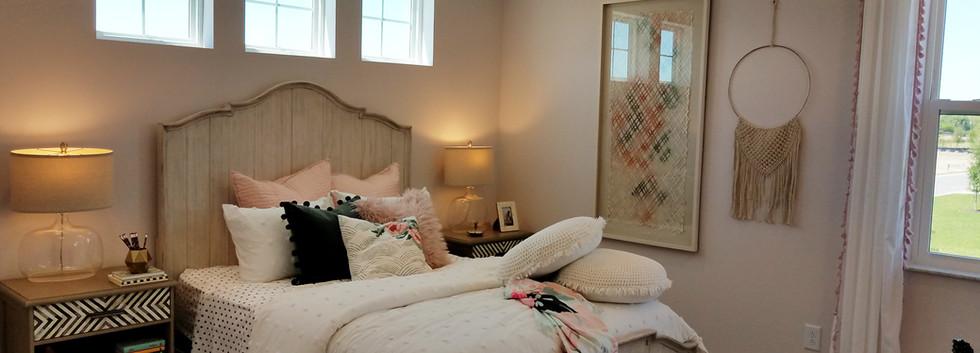 Worthington model home bedroom 2