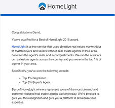 David Barr Sarasota Realtor 2018 Home Light Award Winner