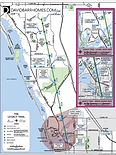 Map of The Legacy Trail Sarasota County