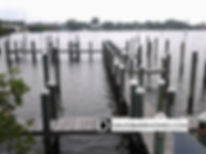Deeded boat docks at Harbor Villas at Dona Bay in Nokomis FL