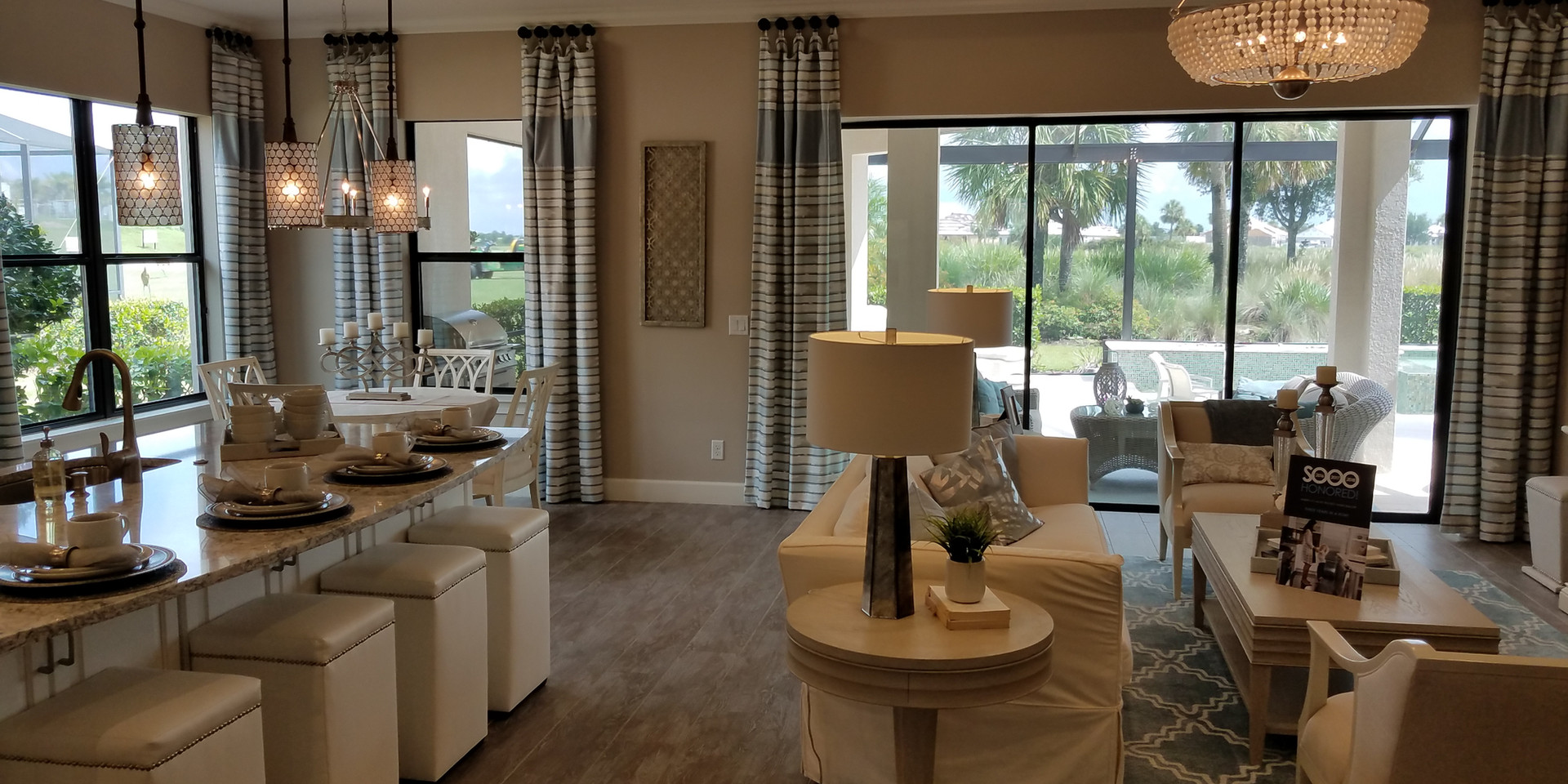 Esplanade Lakewood Ranch model homes