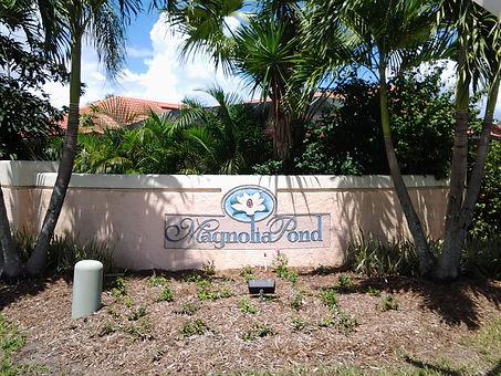 Magnolia Pond Sarasota homes for sale