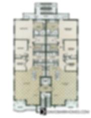 Chateau Venice floor plan