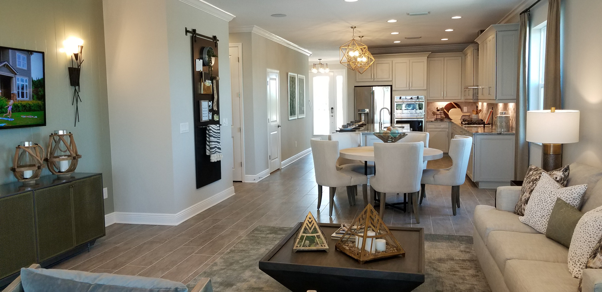Worthington model home