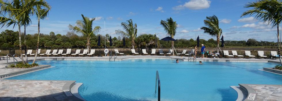 Hammock Preserve Sarasota pool view