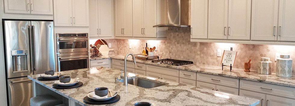Worthington model home kitchen