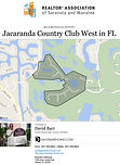 Jacaranda Country Club West in Venice FL demographic and real estate report