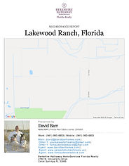 Lakewood Ranch neighborhood and demographic report