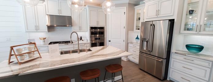 Park East model home kitchen