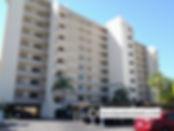 The Sansovino condos for sale parking lot view Venice FL