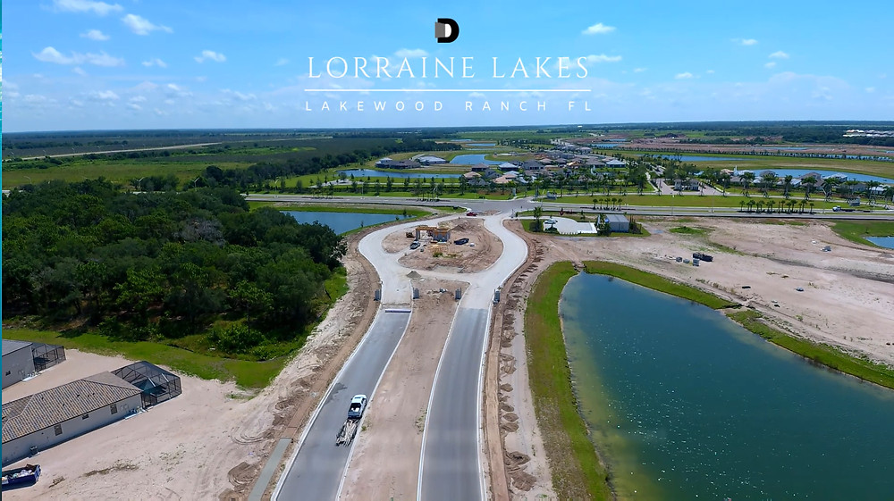 Lorraine Lakes new homes Lakewood Ranch