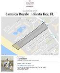 Jamaica Royale Siesta Key demographics