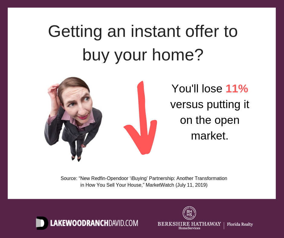 Read instant offers to buy your Lakewood Ranch home fine print