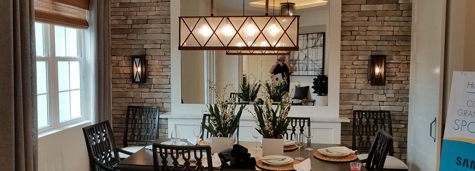 Hampton Lakes dining room