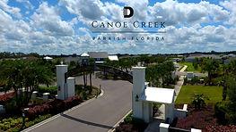 Canoe Creek Parrish FL new homes