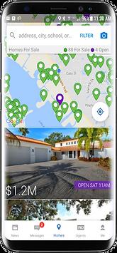 HomeSnap app for Sarasota real estate
