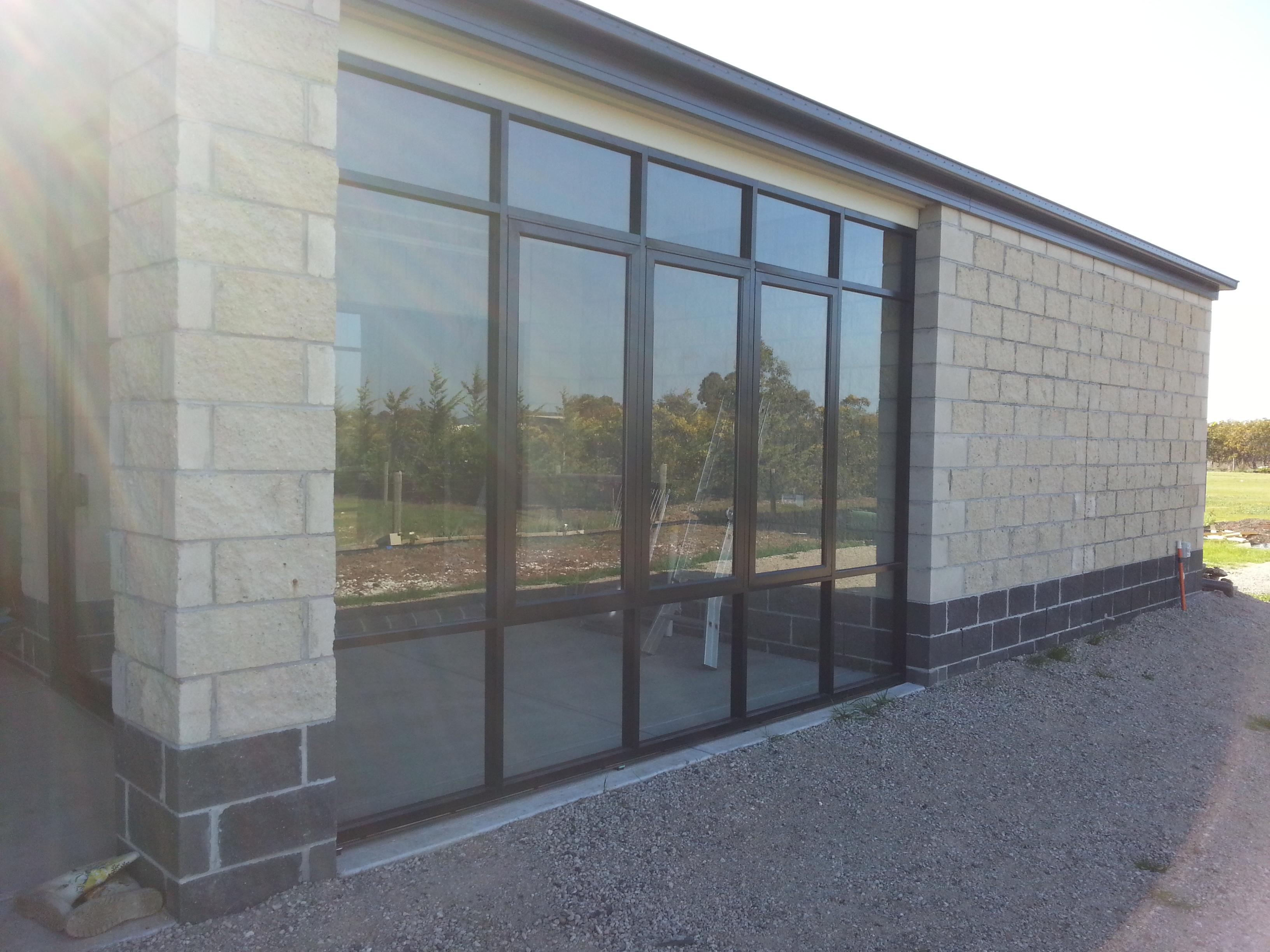 Glass Door #3