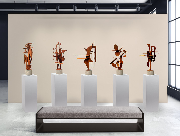 Asheville Series of sculpture.