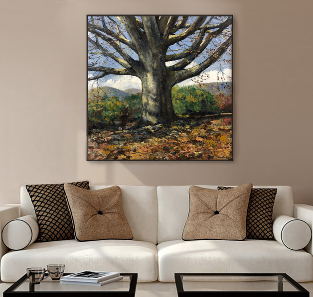 Grand Oak in Autumn