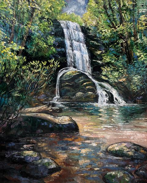 Morning Light, Upper Catawba Falls