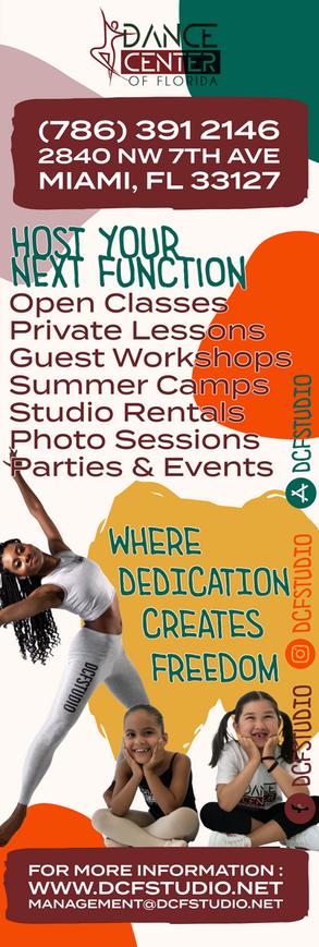 Dance Center of Florida Banner