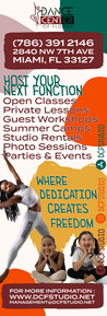 Dance Center of Florida Banner
