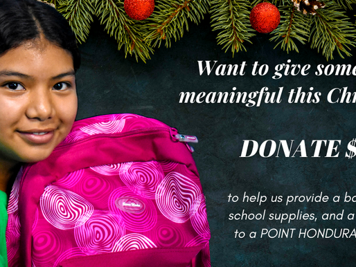 This Christmas partner with POINT HONDURAS!