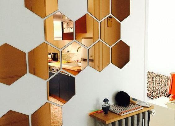 Mosaico de espejos