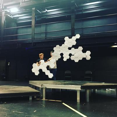 Set Construction for Constellations Tour (2018)