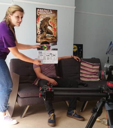 ADing on set (2020)