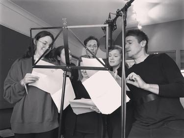 Radio Drama Rehearsals