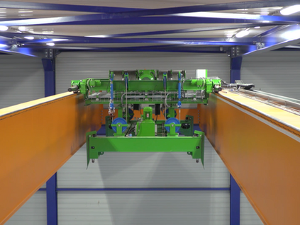 Torsit places overhead cranes with innovative Container Lift System