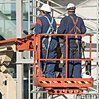 valbeveiliging op hoogwerker