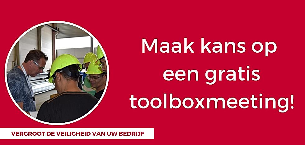 banner maak kans op gatis toolboxmeeting