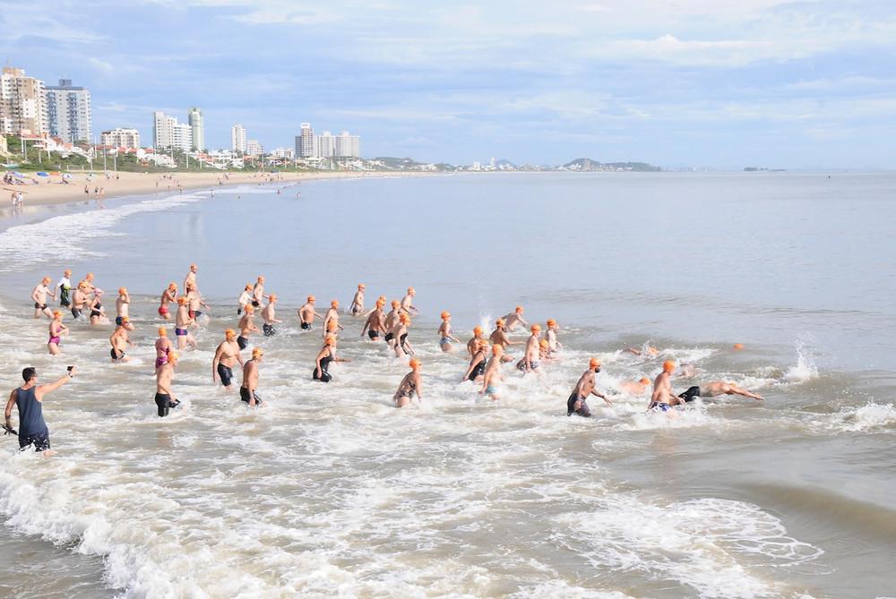 1ª Travessia Aquática Paralímpica é neste domingo em Balneário Piçarras