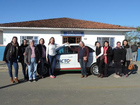 Assistência Social em Barra Velha recebe veículo zero km