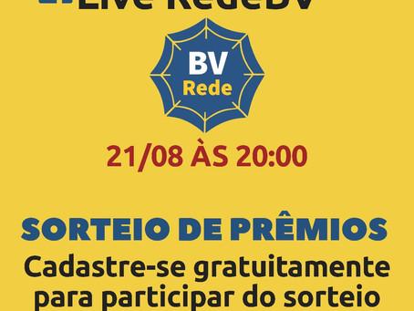 Super Live de Lançamento do Portal Rede BV