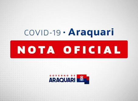 Prefeitura de Araquari flexibiliza decreto