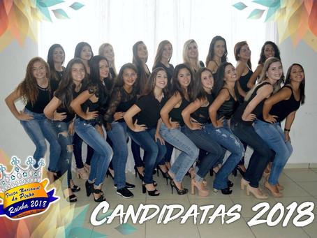 18 candidatas disputarão realeza da 22ª Festa Nacional do Pirão